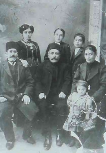 Armenian family – Kesaria 1912