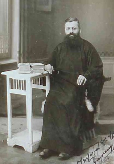 Father Karapirian – Jerusalem 1929