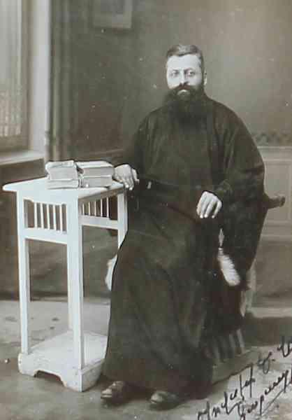 Father Karapirian – Jerusalem 1929
