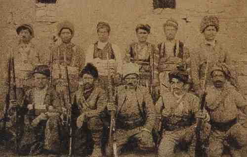Fighters of Shahdagh mountains – 1919