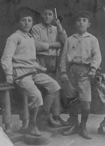 Hovhannes Khorozian with Garbis Pilipossian