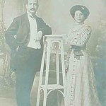 Mikael and Hayganouch Chekyan - 1905