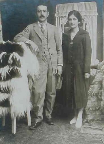 Mr and Mrs Adjarian – Addis Abeba 1927