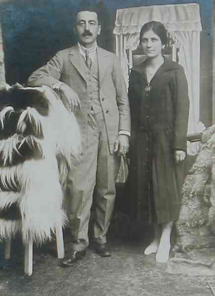 Mr and Mrs Adjarian – Addis Abeba 1927