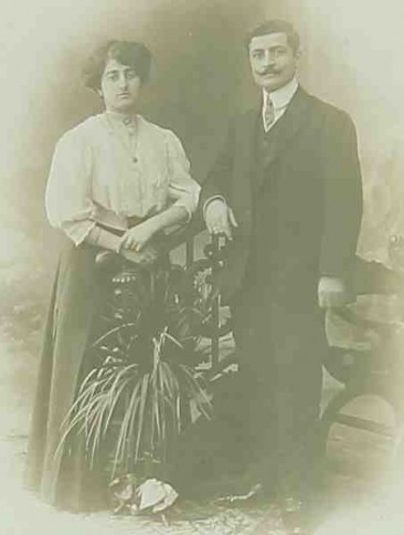 Mr and Mrs Kassapian – 1909