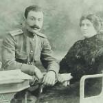 Nathalia Chahomian and Roupen Dastoyan in Tiflis - 1918