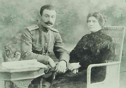 Nathalia Chahomian and Roupen Dastoyan in Tiflis – 1918