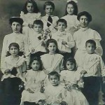 Pupils and teachers - 1910