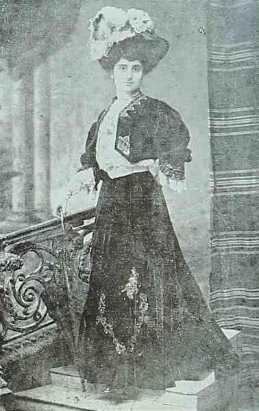 Armenian actress Mrs Mark – Constantinople