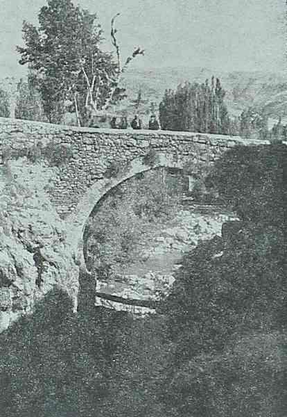 The bridge of Chunkush