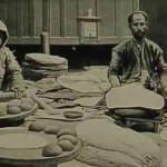 The making of lavash - 1906