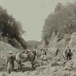 The road of Keraz Bel - 1893