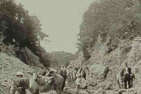 The road of Keraz Bel – 1893