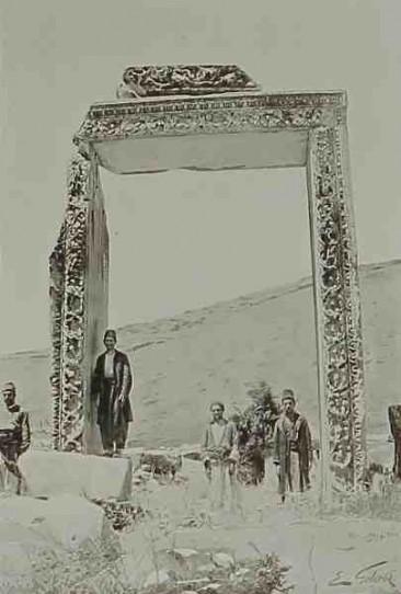 Ultimate ruins of Comana – 1898