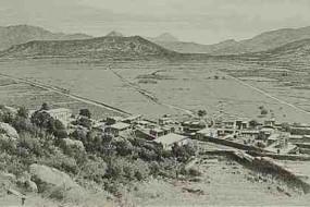 View of Anti-Taurus Mountains