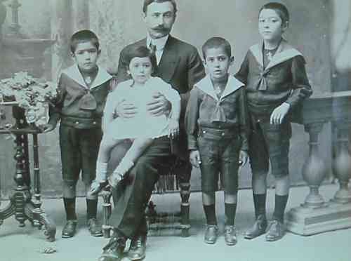 Young Armenian children – Teheran 1916