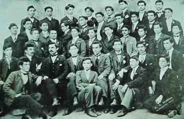 Young men from Kharpert