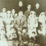 Armenian family - Teheran in the 1880s