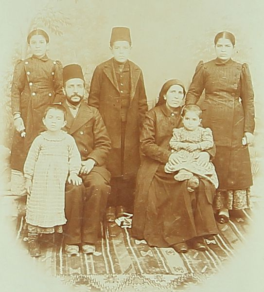 Armenian family – Sebastia 1895