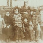 Armenian family from Gandzak in 1895