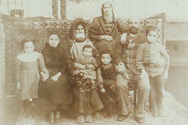 Armenian family – Gandzak 1895