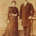 Armenian couple - Constantinople 1900