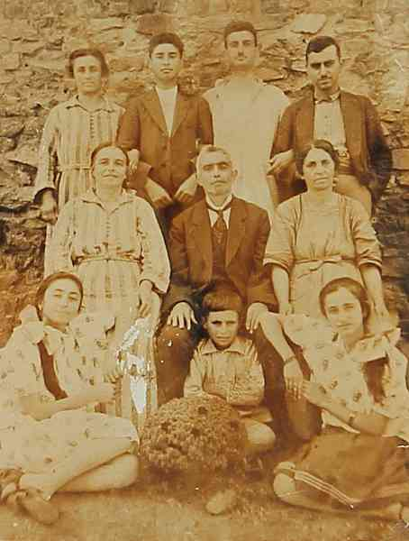 Armenian family – Constantinople 1923