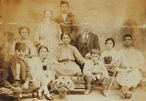 Armenian family – Samatia 1923