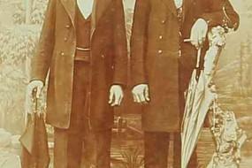 Armenian men – Sebastia 1909