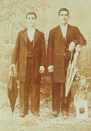 Armenian men – Sebastia 1909