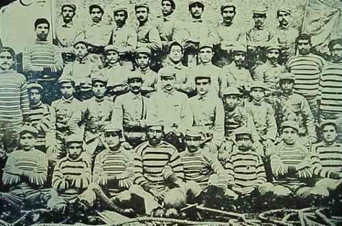 Armenian sportsmen – Aleppo 1923
