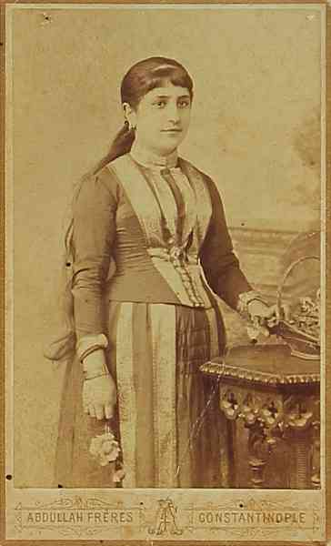 Armenian woman – Sebastia 1880