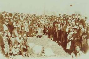 Burial of the bishop Encababian – Sebastia 1905