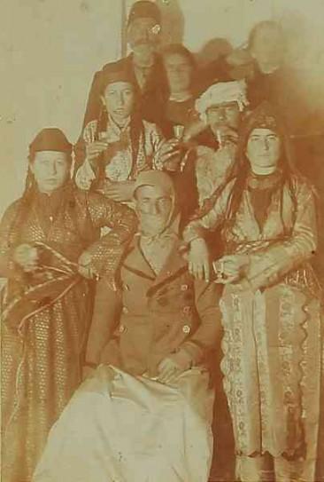 Carnival in Sebastia – 1900