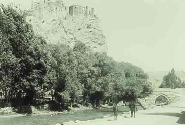 Castle and Bridge of Hoshab near Van
