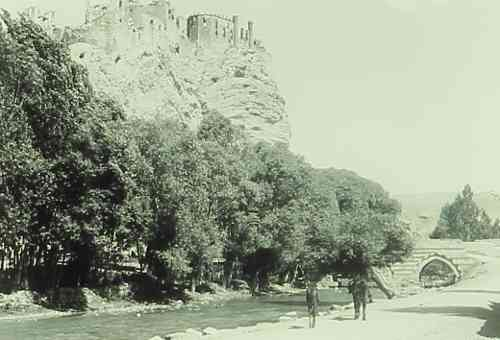Castle and Bridge of Hoshab near Van