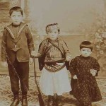 Children Baghtchedjian in Konya - 1910