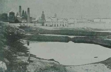 Oil wells of Baku