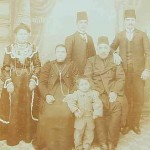 Ovsep Baghtchedjian and his family - Konya 1912