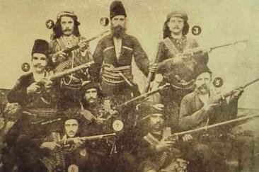 The Hnchakian fedayeen (partisans) in Shabin-Karahisar
