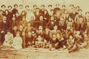 The marriage of Yervart Kuyumdjian – Sebastia 1916