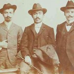 Young Armenian men - Smyrna 1902
