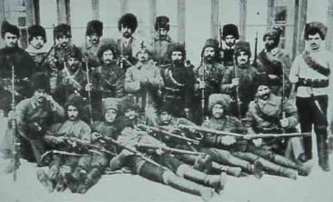 Antranig Yeredzian with his companions