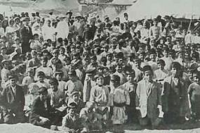 Armenian refugees – Aleksandretta 1916
