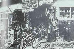 Tiflis 1897 – Carpets shop