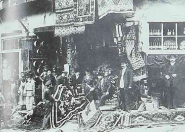 Tiflis 1897 – Carpets shop