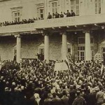 Damas 1937 Demonstration about the sanjak of Aleksandretta