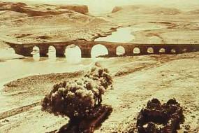 Dikranagerd – bridge on the Tigris River