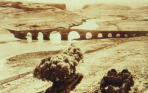 Dikranagerd – bridge on the Tigris River