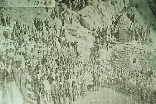 Pilgrimage near Erznka – 1906